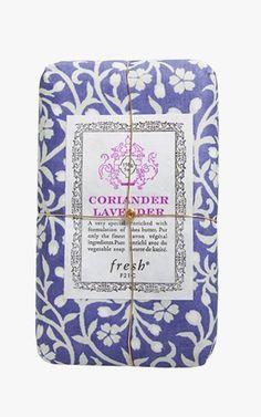 Fresh Coriander Lavender Petit Soap, $12.