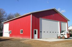 Young america, mn, ag storage and shop, ron foust, lester buildings Shop Buildings, Metal Buildings, Barn Pictures, Shop Front Design, House Design, Healthy Buffalo Chicken, Gourmet Dog Treats, Veggie Dogs, Best Homemade Dog Food