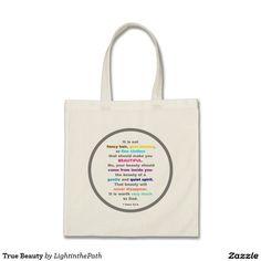 True Beauty Budget Tote Bag