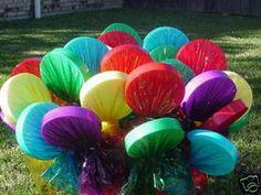 Candyland /Willie Wonka Party Decoration One Lollipop