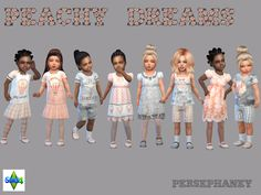 Sims 4 CC's - The Best: Set for Toddlers by Persephaney