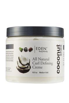 Eden BodyWorks EDEN BodyWorks All Natural Coconut Shea Curl Defining Creme, $8.49, available at Eden BodyWorks.