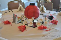 Love the japanese inspiration grad party ideas pinterest lantern asian centerpiece asian inspired party junglespirit Images