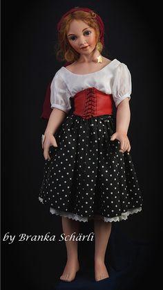 """Daisy Garland as """"Gypsy"""""""