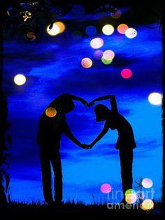 Night of Love :) painturdreams!