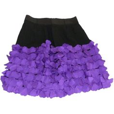 Pre-owned SONIA BY SONIA RYKIEL SILK SKIRT WITH VIOLET HEARTS (155 CAD) ❤ liked on Polyvore featuring skirts, silk skirt, sonia by sonia rykiel, violet skirt, heart skirt and purple skirt