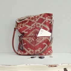 Aztec Bag - Southwest Tribal Purse - Southwestern  Messenger Bag - Custom Length Leather Strap  (no7). $75.00, via Etsy.
