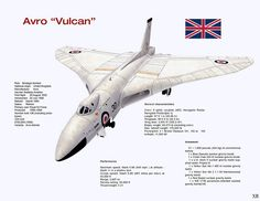 1956 ... 'Vulcan' strategic bomber (UK) | by x-ray delta one Air Force Aircraft, Navy Aircraft, Military Aircraft, Anti Flash, V Force, Nuclear Force, Avro Vulcan, Plane Photos, Delta Wing