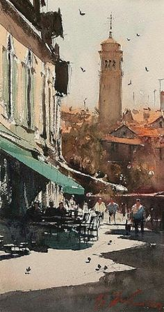Watercolor. Joseph Zbukvic