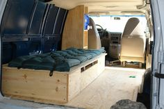 Chevy Astro Van mobile home conversion retrofit