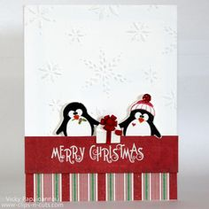 Christmas cards with Penny Black – DAY 3 - Clips-n-Cuts