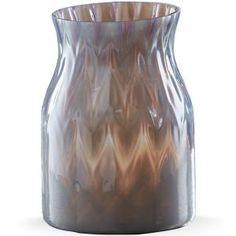 # 852627A Smokey Plum Art Glass Vase by sensationaltreasures