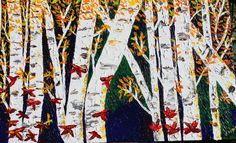 Birch Trees II - Brenda Zyburt | Journey Of The Soul, Healing with Our Celestial Angelic Guides