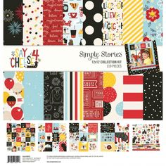 Simple Stories ~ SAY CHEESE III ~ Washi ~ Here We Go ~ Disney