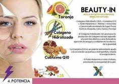 Beauty In : Colageno hidrolizado, coenzima Q10