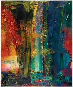 Gerhard Richter Abstraktes Bild (1986) Photo: Sotheby's