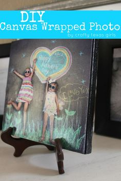 DIY Canvas Wrapped Photos http://www.craftytexasgirls.com/2012/06/crafty-how-to-diy-canvas-wrapped-photos.html