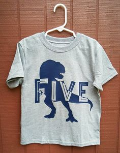 Fourth Birthday Dinosaur Party 6th Parties Baby Shirts Ideas Little Man Big 5 Vinyl