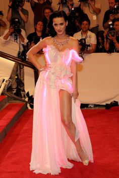 """Katy Perry Photos Photos - Singer Katy Perry attends the Costume Institute Gala Benefit to celebrate the opening of the """"American Woman: Fashioning a National Identity"""" exhibition at The Metropolitan Museum of Art on May 3, 2010 in New York City. - """"American Woman: Fashioning A National Identity"""" Met Gala - Arrivals"""