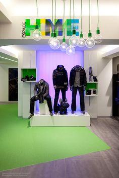 ESPACE MODE - Fashion store by SAMUEL DUBECH, via Behance