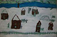 Thomas Elementary Art: 3rd Grade Winter Landscapes