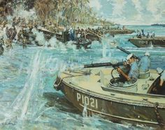 World War II lasted from 1937 to 1945 and devastated many countries. The war was divided into two theaters of war. These are the facts about World War II in the Pacific. Military Art, Military History, 7 Marine, Military Drawings, Us Coast Guard, Pokemon, American Soldiers, Panzer, World War Two
