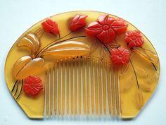 gardenofthefareast:  1930s Japanese Vintage Hair Ornament