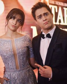 Liza Soberano and Enrique Gil at Star Magic Ball 2016 Liza Soberano Gown, Lisa Soberano, Enrique Gil, Pretty Face, How To Look Pretty, Celebrity Outfits, Celebrity Style, Star Magic Ball, Philippine Women