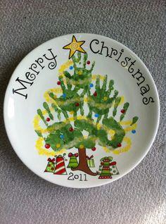 Cool Christmas Plate