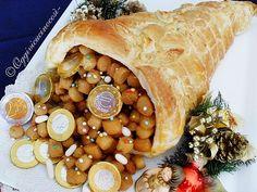 Struffoli di Natale in Cornucopia di Sfoglia©Lina oggivicucinocosì