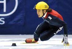 USA! - Apolo Ohno speed skating