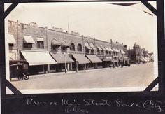 Ponca City Oklahoma 1919 Extremely RARE Snapshot Photo View of Main Street 1919 | eBay