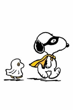 Snoopy & Woodstock Halloween
