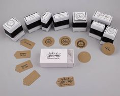 Customized Stamps by NewMan! | bombonieres.com.gr