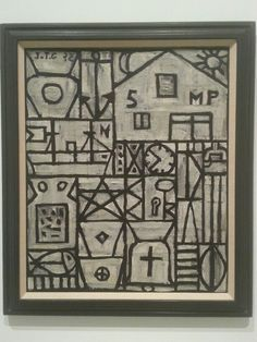 """Joaquín Torres-García. .Exposición""""La Invención Concreta"""". Colección Patricia Phelps. Museo Reina Sofía. Madrid."""