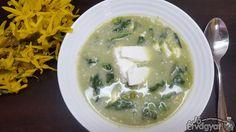 Spenótos zöldborsó-krémleves Palak Paneer, Feta, Ethnic Recipes