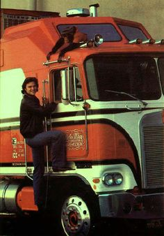 "1980 Kenworth K100 Aerodyne COE from the NBC TV Show, ""BJ & The Bear"