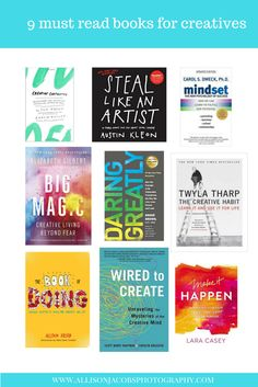 9 must read books for creatives
