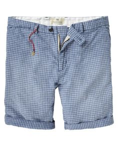chino short. by scotch & soda. Oh I want these shorts!