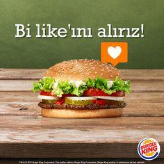 Efsane lezzetleri Instagram'da da beğenmek için takip et Burger King'çi! :) http://instagram.com/burgerking