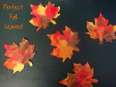 Great Fall Art Project - Must Do