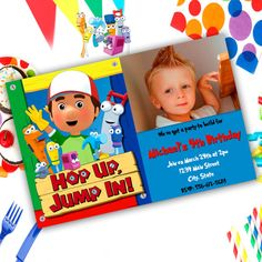 Handy Manny Birthday Party by Pixelimpressions on Etsy