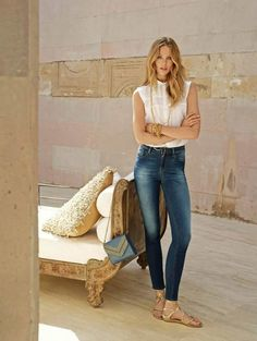 mavi jeans spring 2014 campaign1 Frida Gustavsson & Magdalena Frackowiak Star in Mavi Jeans Spring 2014 Campaign