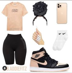 Swag Outfits For Girls, Cute Lazy Outfits, Cute Swag Outfits, Girls Fashion Clothes, Teenage Girl Outfits, Teen Fashion Outfits, Dope Outfits, Girly Outfits, Retro Outfits