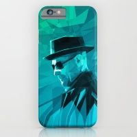 Heisenberg Who Knock Stained Glass iPhone 6 Slim Case