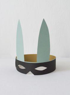 Bandit Bunny Mask | Mer Mag