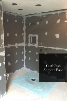 Curbless - or sometimes called barrier free - showers do not need to be a mystery. Get practical tips here - http://blog.innovatebuildingsolutions.com/2015/11/26/7-myths-level-curbless-showers/