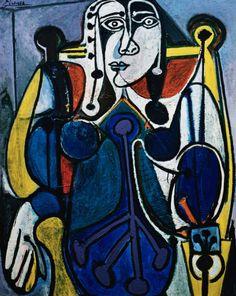 1949 --- Donna in blu