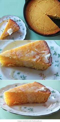 brown butter honey cornbread: I omitted the honey, used sprouted whole wheat flour, and it was delicious!!