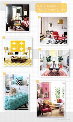 More color blocking for your home... Love these ideas.